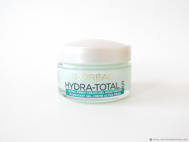 L'Oreal Paris Skin Care Expert Hydra Total-5 Ultra-Fresh Ritual Gel Moisturizer Review Influenster