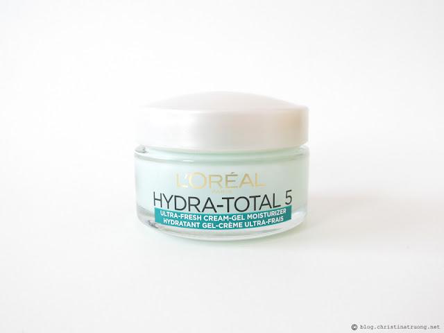 L'Oreal Paris Skin Care Expert Hydra Total-5 Ultra-Fresh Ritual Gel Moisturizer Review Influenster