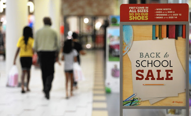 Tax Free Weekend: compras de volta às aulas