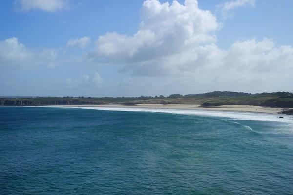 bretagne finistère gr34 le conquet plage blancs sablons
