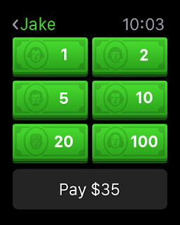 Square Cash app arrives on the Apple Watch