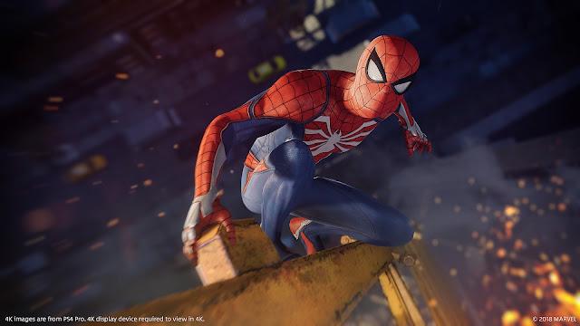 الإعلان عن ثيم رائع للعبة Spider Man متوفر الآن على جهاز بلايستيشن 4 ، إليكم رابط تحميله من هنا ..