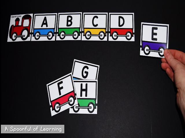 Alphabet Center Activities 3