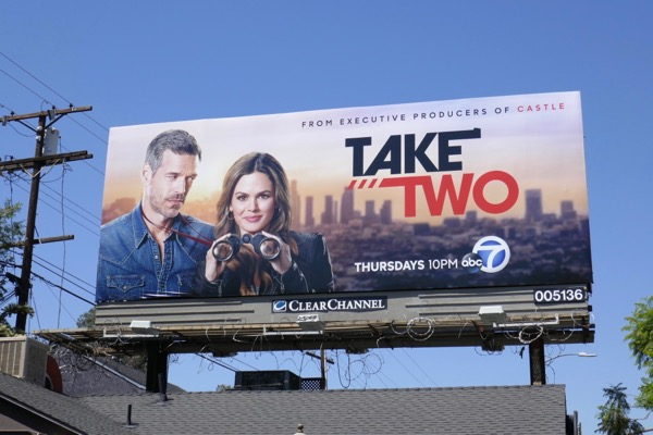 Take Two series premiere billboard