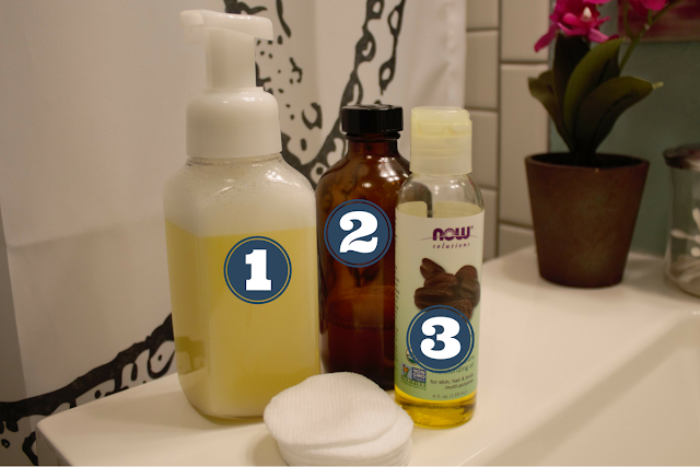 3 Step DIY Natural Skin Care Routine