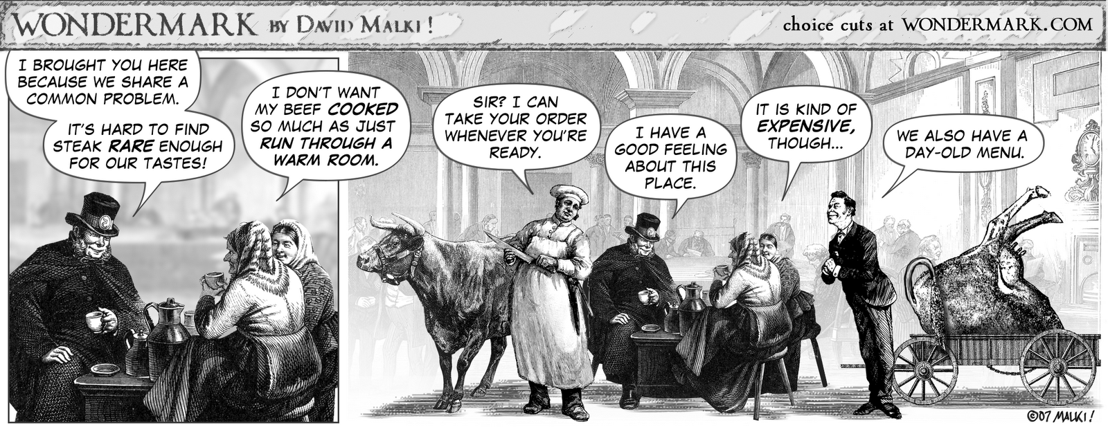 The Sound A Doggy Makes: Dave Malki ! of Wondermark Talks