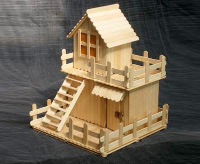 แบบบ้านไม้ไอติม