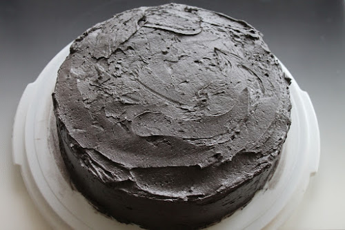 Star Wars Day: Dark Side Chocolate Frosted Cake