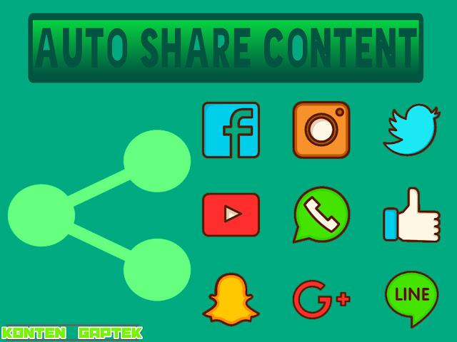 Cara Auto Share Konten Blog ke Berbagai Sosmed
