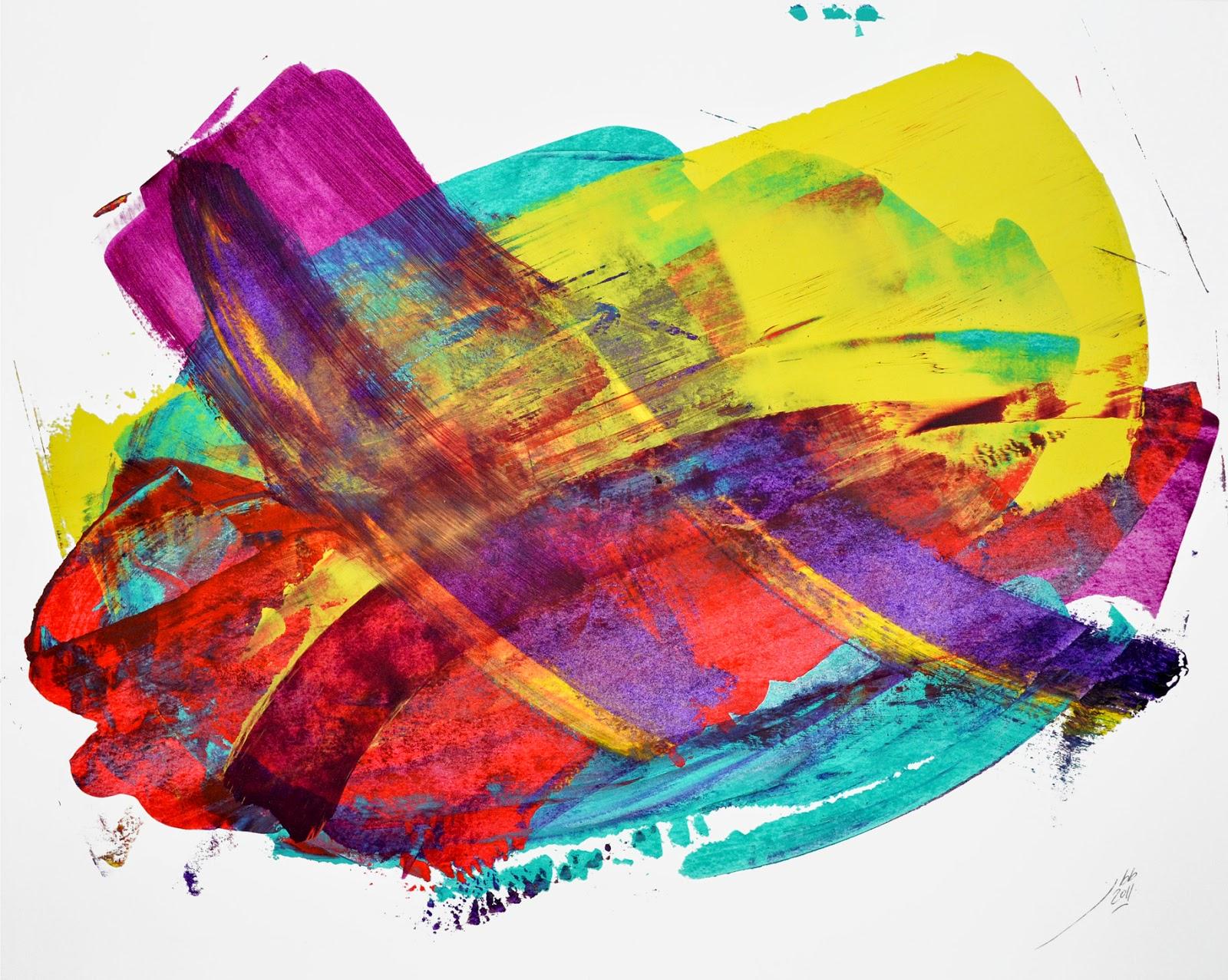 jean baptiste besançon artiste abstraction lyrique peinture papier