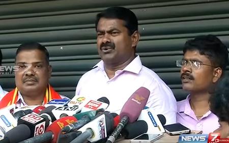 Seeman speaks about Naam Tamilar competing in RK Nagar