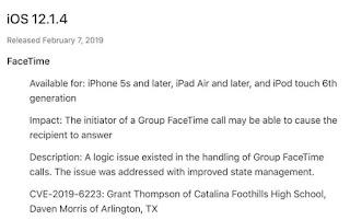 Update iOS 12.1.4