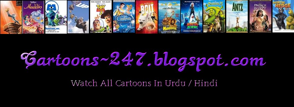 Cartoons Movies Hindi / Urdu
