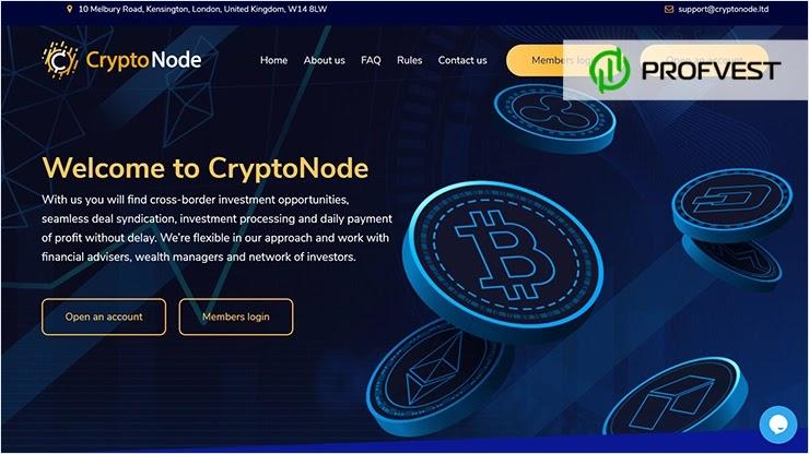 CryptoNode обзор и отзывы HYIP-проекта