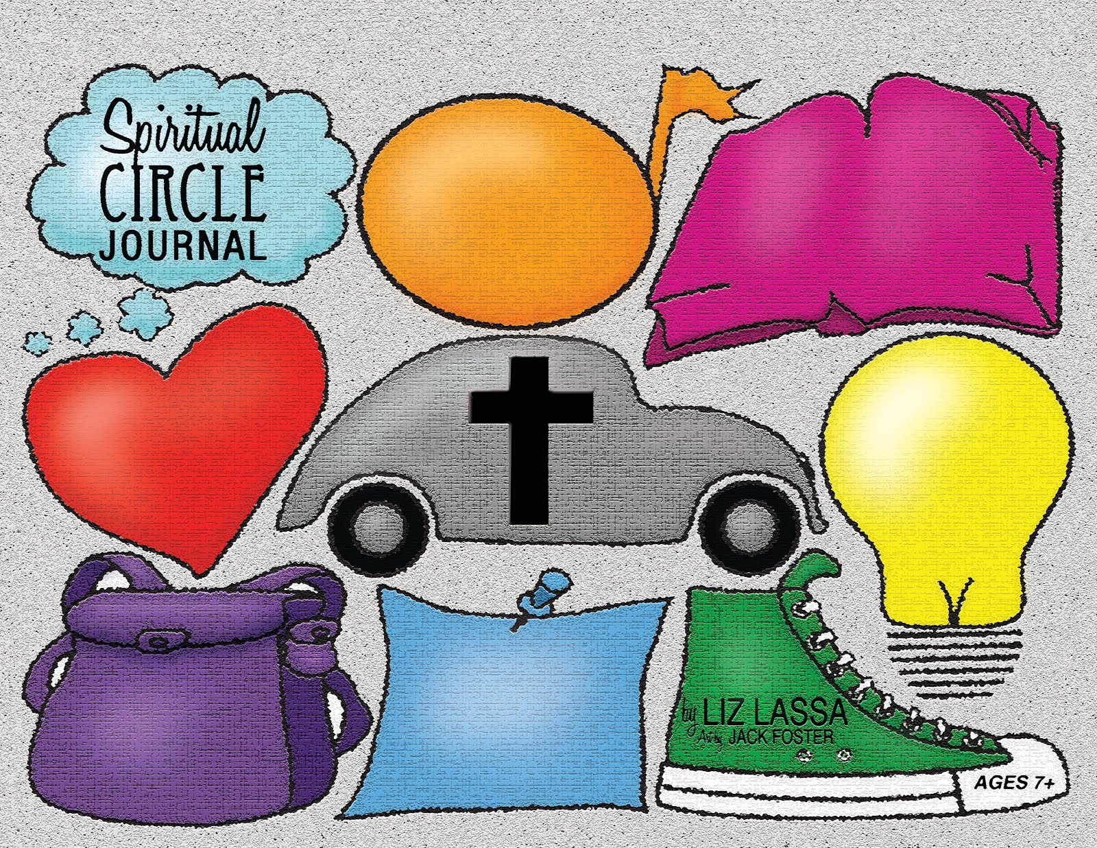 Spiritual Circle Journal for Kids
