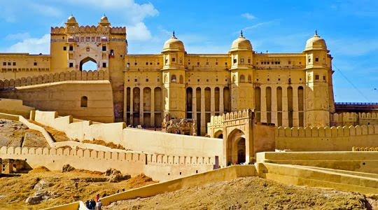 Amer Fort - one of the principal tourist attractions in the Jaipur