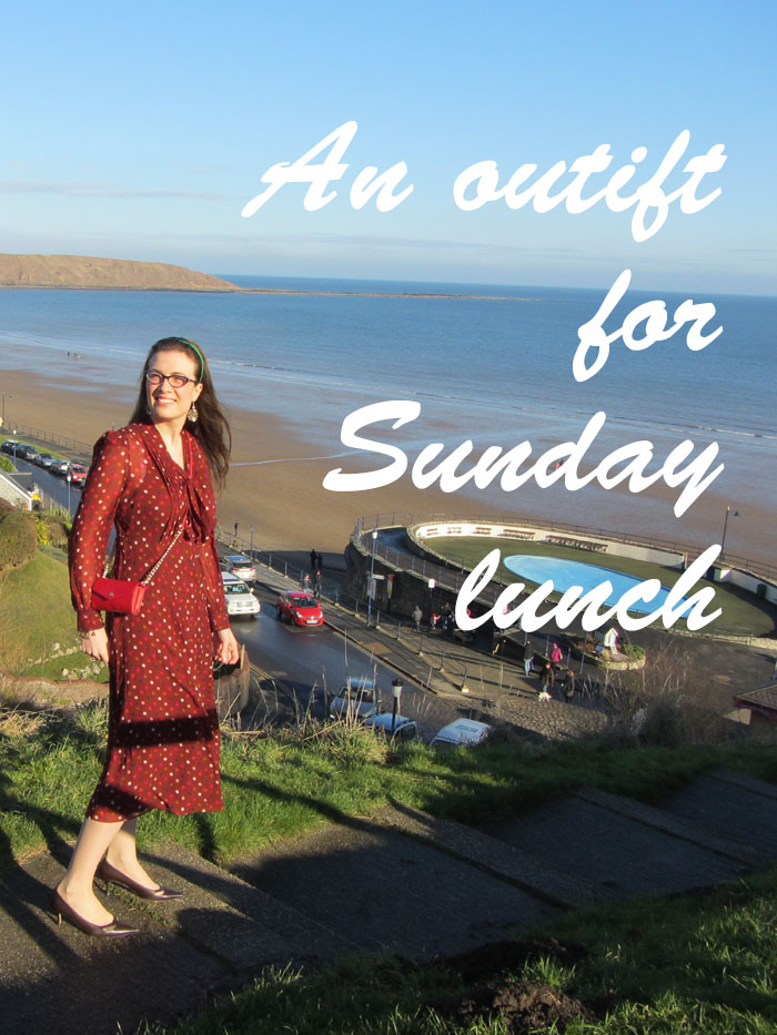 Sunday lunch outfit fashion blogger