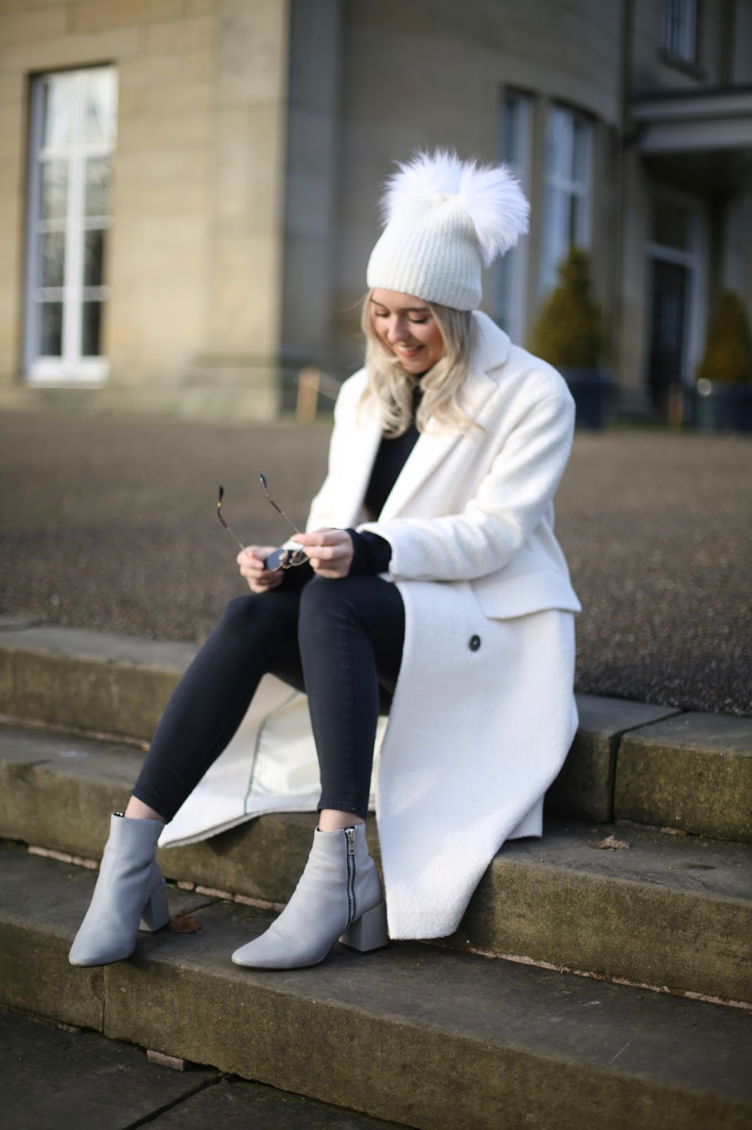 styling a white coat