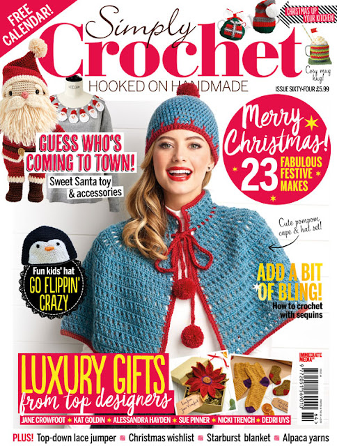 Susan Pinner Hope You Have Got Your Copy Of Simply Crochet Issue 64