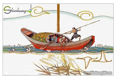 Đánh dấu thuyền tìm gươm