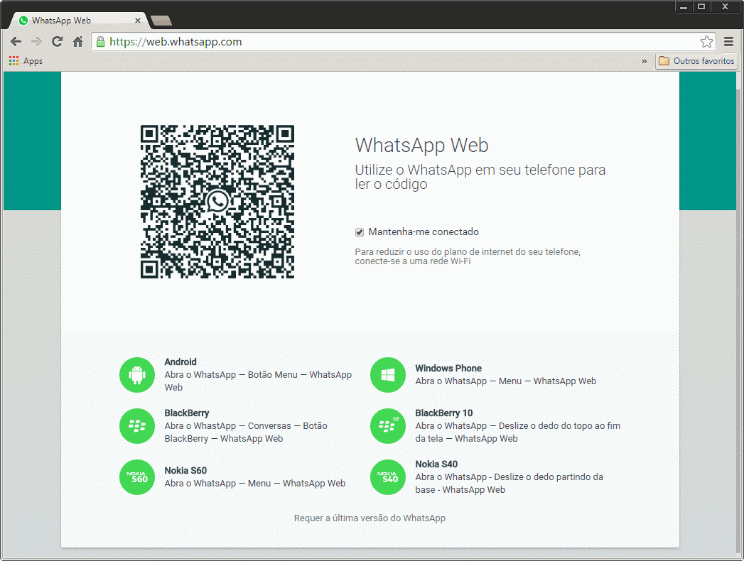WhatsApp Web - Browser QRCode