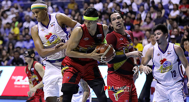 Arwind Santos Reacts On PBA Finals 'Scripted' Claims