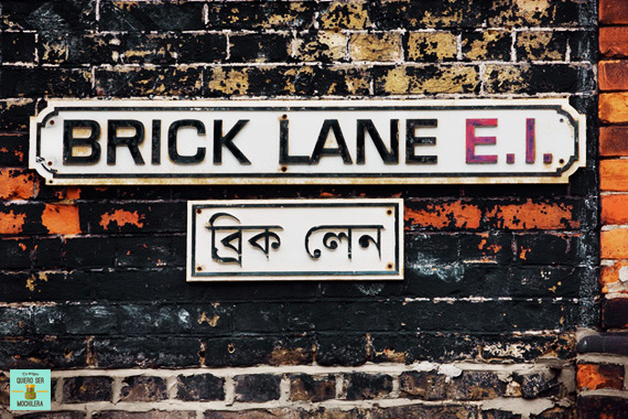 Brick Lane Street, Londres