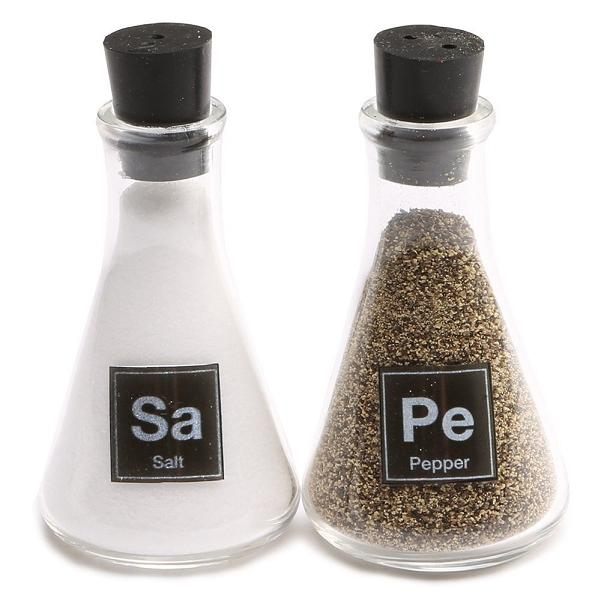 20 best chemistry themed products - Chemistry salt and pepper shakers ...