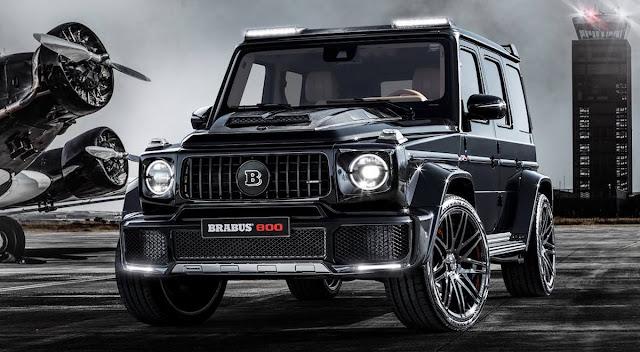 ブラバスが新型「AMG G63」を800馬力にカスタムした「BRABUS 800 WIDESTAR」を発表!