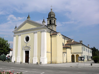 The parish church of Santa Cristina in Granze near Padua, where Bruson sang in the choir as a boy
