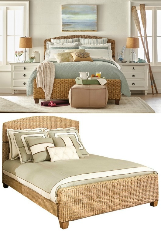 Beds & Headboards for Coastal Decorating - Coastal Decor ...
