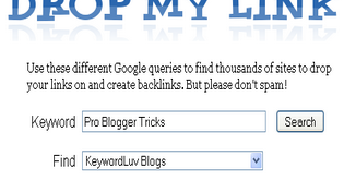 Pro Blogger Tricks: How To Find Dofollow Commentluv Blogs