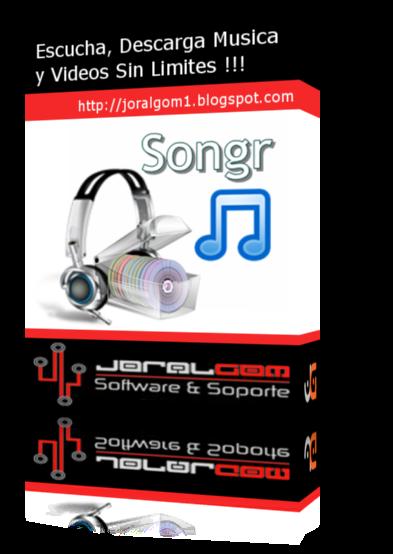 Songr v2.1.0 Escucha y Descarga Musica y Videos Sin Limites !!!!