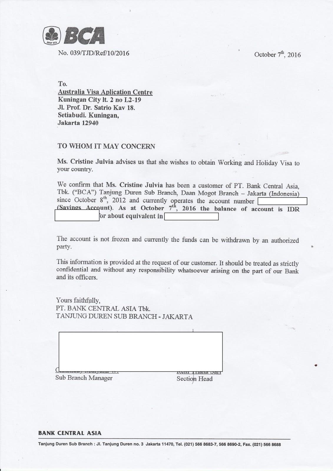Contoh Surat Keterangan Kerja Dalam Bahasa Inggris Untuk