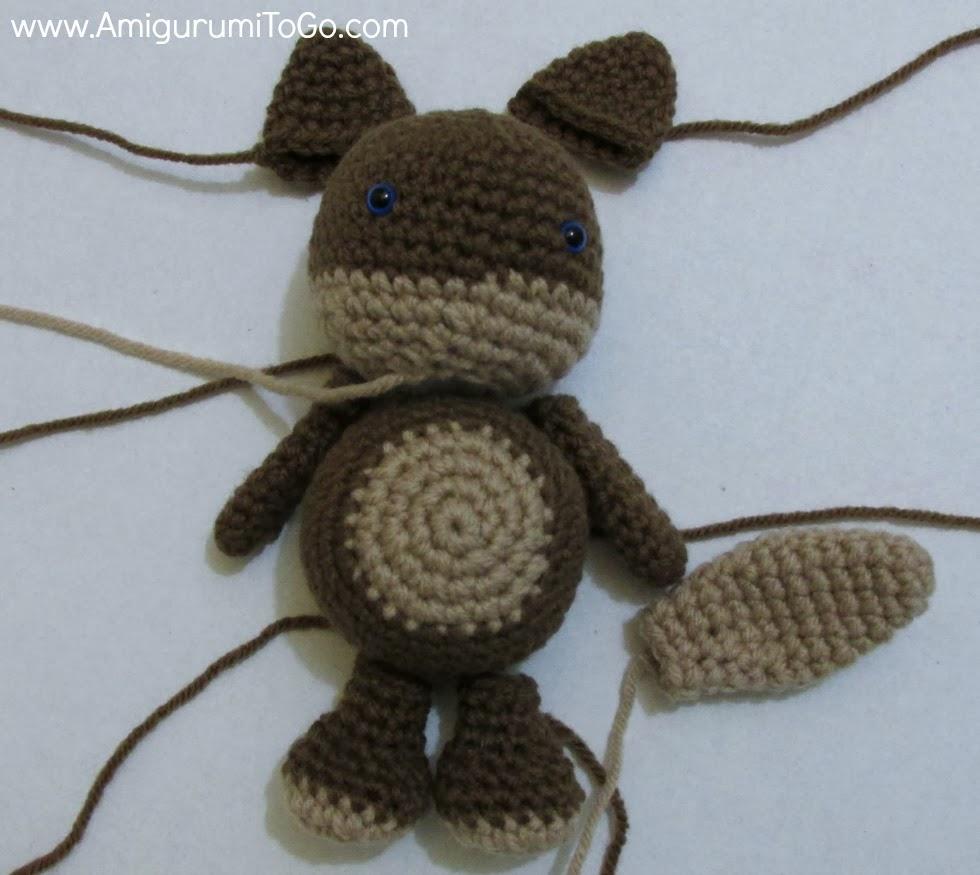 Lluna Pellise's photos on   Crochet wolf, Amigurumi pattern ...   875x980