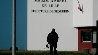 Le meurtrier présumé d'Angélique à Wambrechies de retour à la prison de Sequedin