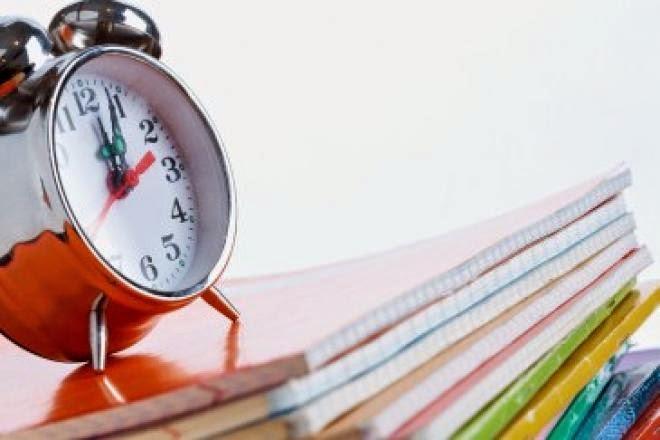 تنظيم الوقت في الامتحان