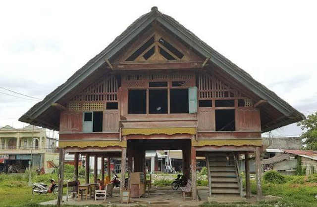 The form of traditional house design in Aceh