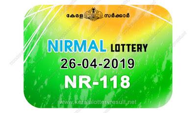 KeralaLotteryResult.net, kerala lottery kl result, yesterday lottery results, lotteries results, keralalotteries, kerala lottery, keralalotteryresult, kerala lottery result, kerala lottery result live, kerala lottery today, kerala lottery result today, kerala lottery results today, today kerala lottery result, Nirmal lottery results, kerala lottery result today Nirmal, Nirmal lottery result, kerala lottery result Nirmal today, kerala lottery Nirmal today result, Nirmal kerala lottery result, live Nirmal lottery NR-118, kerala lottery result 26.04.2019 Nirmal NR 118 26 april 2019 result, 26 04 2019, kerala lottery result 26-04-2019, Nirmal lottery NR 118 results 26-04-2019, 26/04/2019 kerala lottery today result Nirmal, 26/4/2019 Nirmal lottery NR-118, Nirmal 26.04.2019, 26.04.2019 lottery results, kerala lottery result April 26 2019, kerala lottery results 26th April 2019, 26.04.2019 week NR-118 lottery result, 26.4.2019 Nirmal NR-118 Lottery Result, 26-04-2019 kerala lottery results, 26-04-2019 kerala state lottery result, 26-04-2019 NR-118, Kerala Nirmal Lottery Result 26/4/2019