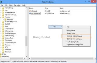 Cara Memblokir Aplikasi Atau Software di Windows
