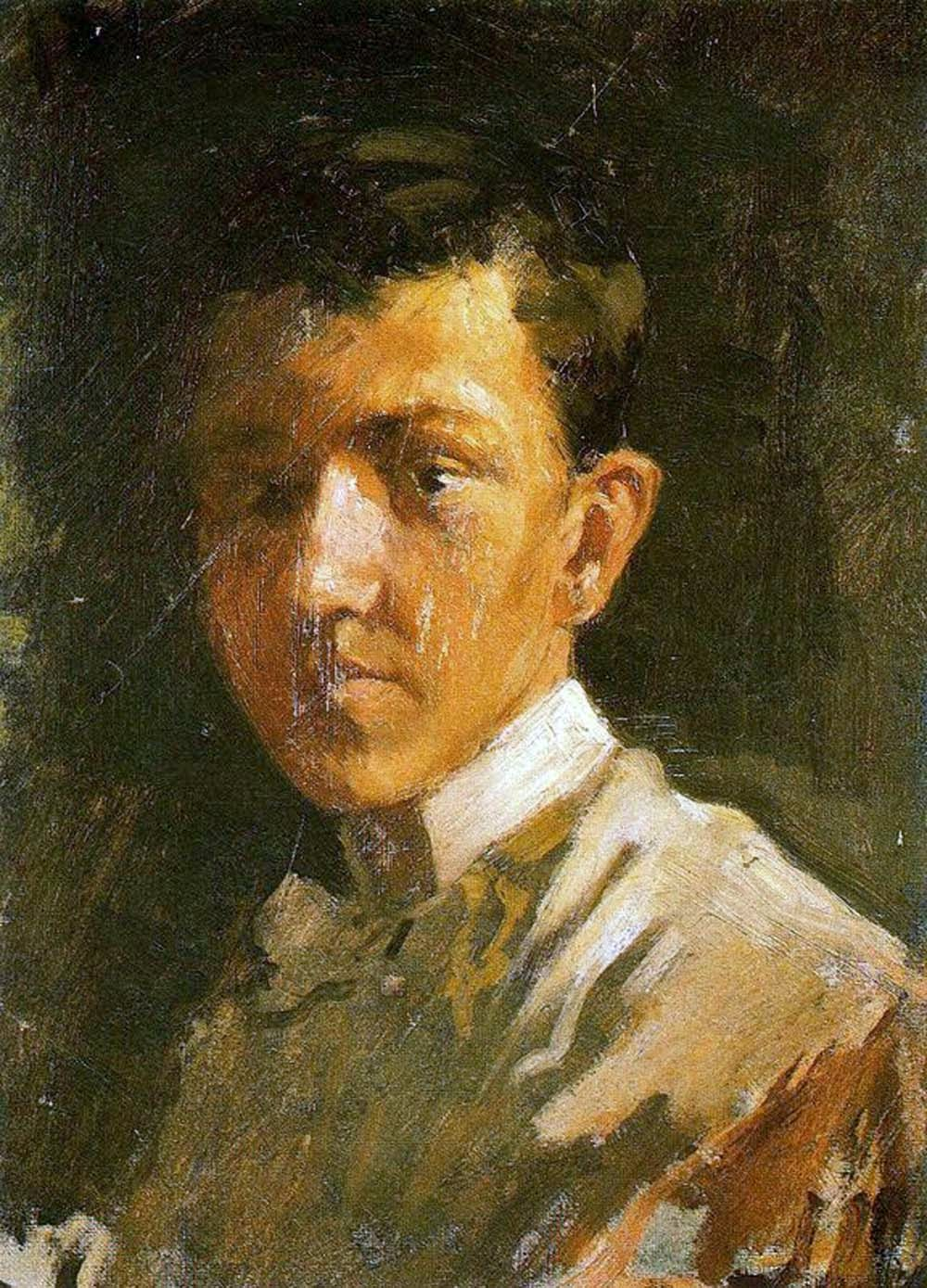 Pablo Picasso, Self Portrait, Portraits of Painters, Fine arts, Painter Pablo Picasso