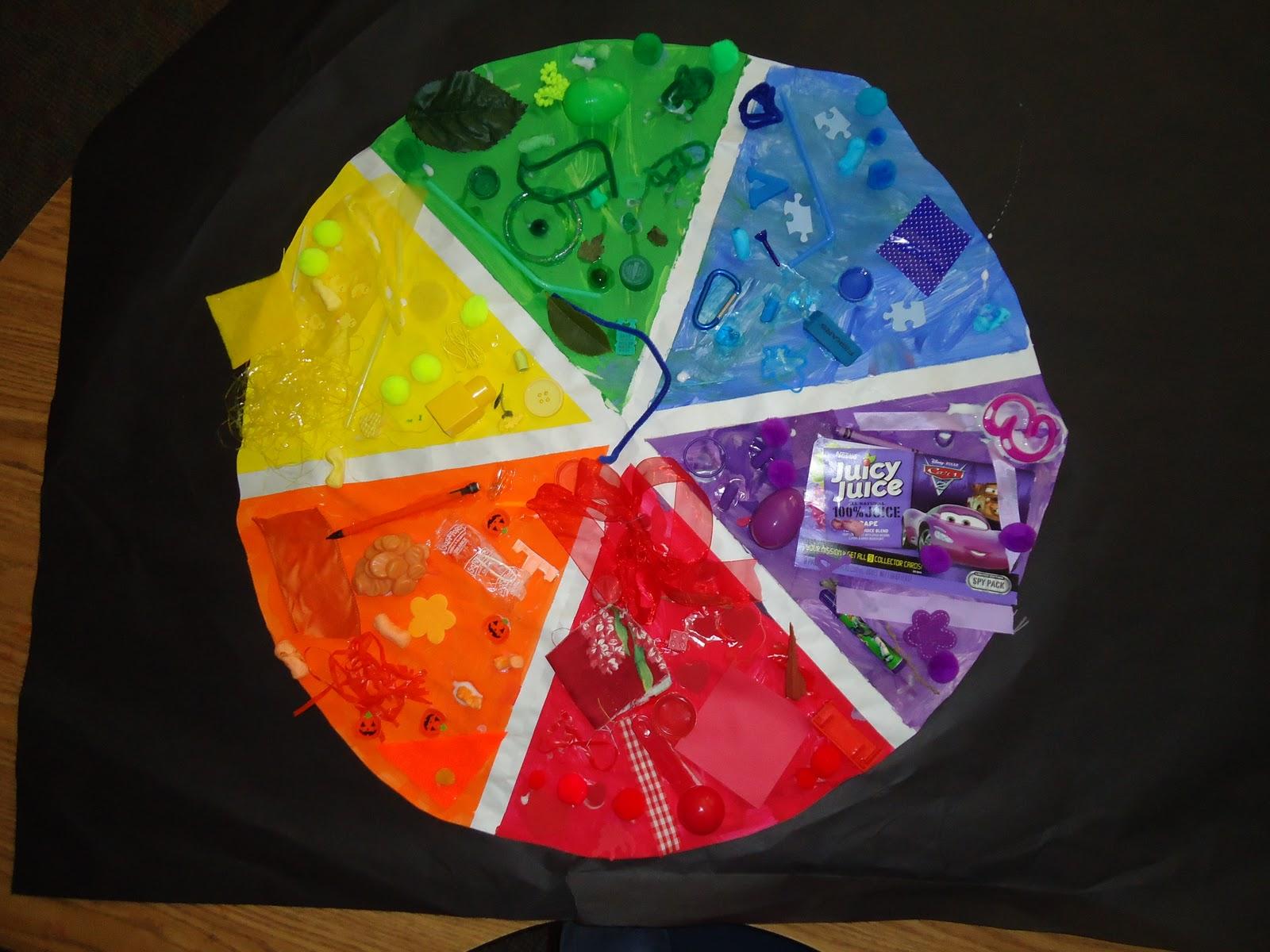 Little Illuminations Creating A Pre K Color Wheel