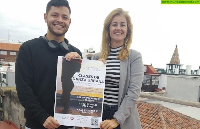 La Concejalía de Juventud de Santa Cruz de La Palma impartirá clases gratuitas de danza urbana