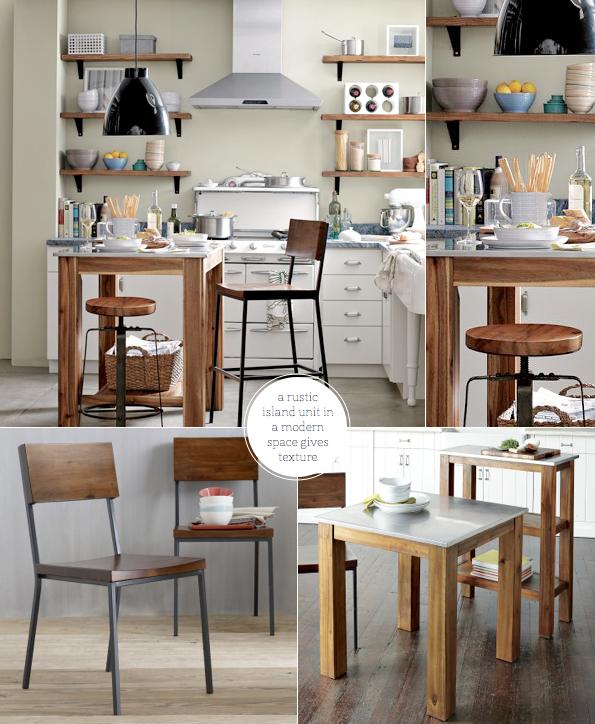 West Elm: Modern Meets Rustic-Industrial Kitchen - Bright ...
