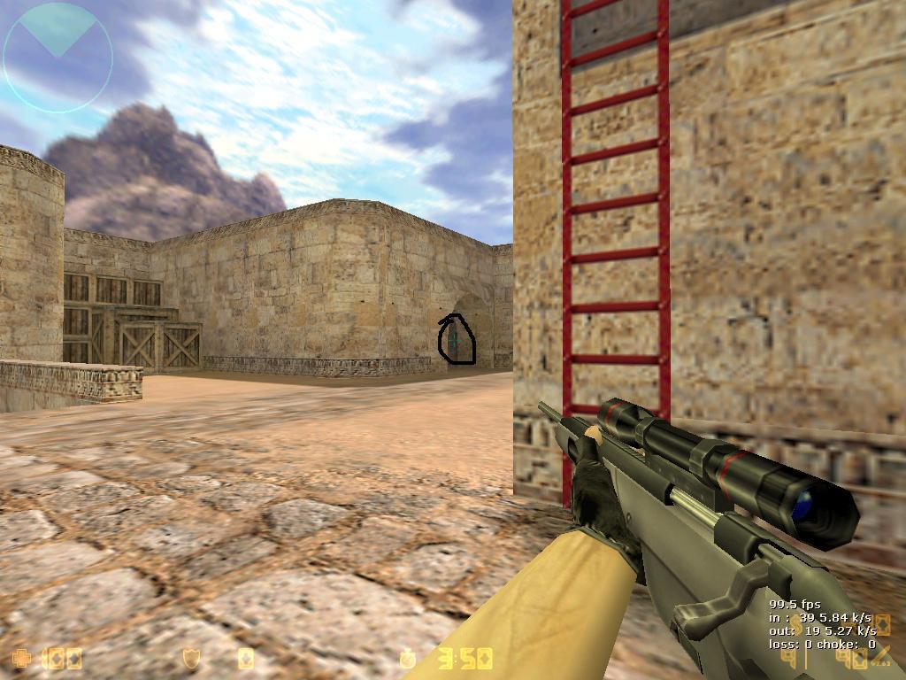 Cs 1 6 Universal Crosshair Counter Strike Gaming World