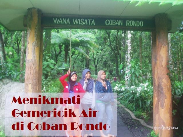 Menikmati Gemericik Air di Coban Rondo