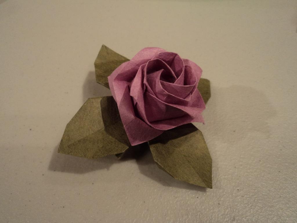 Kawasaki Rose Origami