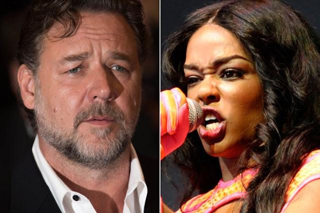 Azealia Banks acusa al actor Russell Crowe de agresión en cuarto de hotel