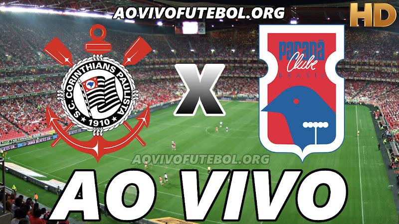 Corinthians x Paraná Ao Vivo HD TV PFC