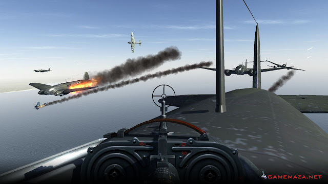 IL 2 Sturmovik Cliffs of Dover Gameplay Screenshot 2